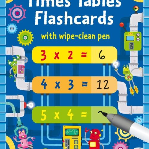 times table flashcard
