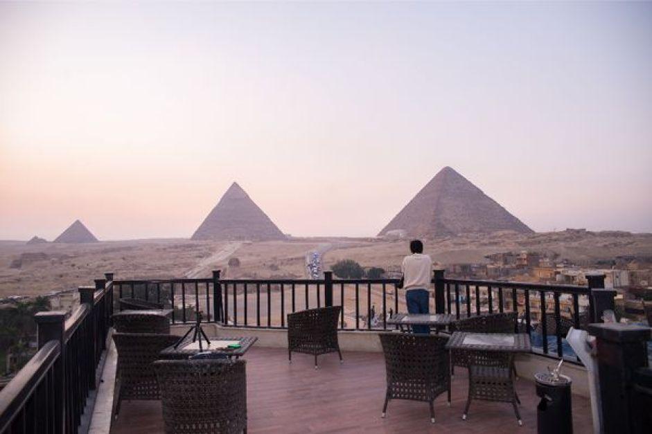 埃及金字塔住宿