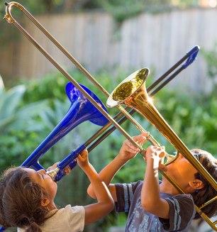 plastic trombone review