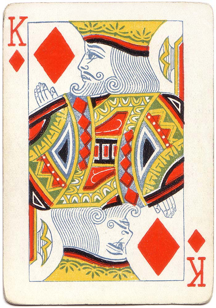 King of diamonds playing card poker - Playing Cards Top 1000