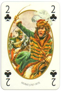 2 of clubs Face et Dos deck Empire by Carta Mundi