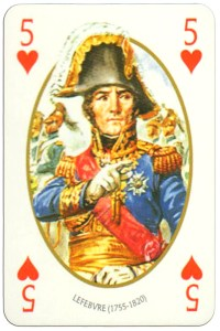 #PlayingCardsTop1000 – 5 of hearts Face et Dos deck Empire by Carta Mundi