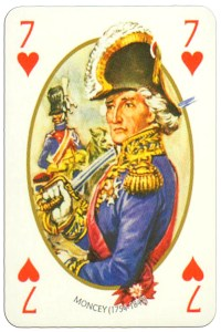 7 of hearts Face et Dos deck Empire by Carta Mundi