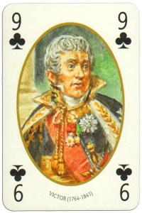 9 of clubs Face et Dos deck Empire by Carta Mundi