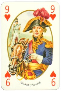 #PlayingCardsTop1000 – 9 of hearts Face et Dos deck Empire by Carta Mundi