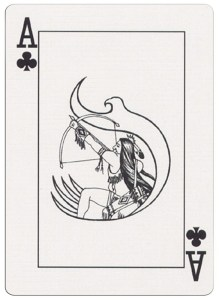 #PlayingCardsTop1000 – Ace of clubs deck for indian casinos in the USA