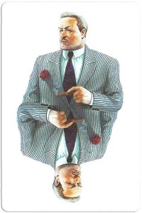 #PlayingCardsTop1000 – Il Capo Mafia playing cards