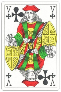 """#PlayingCardsTop1000 – Jack of clubs Classic Belgian cards<span class=""""rmp-archive-results""""><i class=""""star-highlight fa fa-star fa-fw""""></i><i class=""""star-highlight fa fa-star fa-fw""""></i><i class=""""star-highlight fa fa-star fa-fw""""></i><i class=""""star-highlight fa fa-star fa-fw""""></i><i class=""""star-highlight fa fa-star fa-fw""""></i> <span>5 (1)</span></span>"""