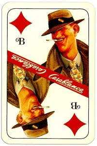 #PlayingCardsTop1000 – Jack of diamonds Casablanca tobacco brand cards