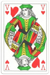 """#PlayingCardsTop1000 – Jack of hearts Classic Belgian cards<span class=""""rmp-archive-results""""><i class=""""star-highlight fa fa-star fa-fw""""></i><i class=""""star-highlight fa fa-star fa-fw""""></i><i class=""""star-highlight fa fa-star fa-fw""""></i><i class=""""star-highlight fa fa-star fa-fw""""></i><i class=""""star-highlight fa fa-star fa-fw""""></i> <span>5 (1)</span></span>"""