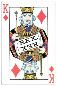 King of diamonds Carnival of New Orleans deck