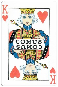 King of hearts Carnival of New Orleans deck