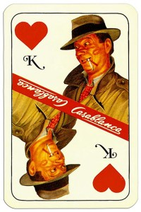 #PlayingCardsTop1000 – King of hearts Casablanca tobacco brand cards