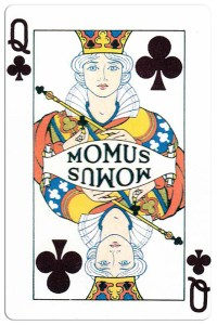 Queen of clubs Carnival of New Orleans deck