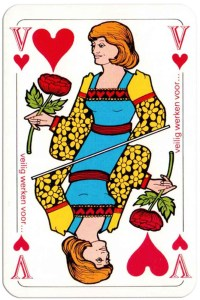 #PlayingCardsTop1000 – Queen of hearts Deck Bouw Veilig for Dutch building company