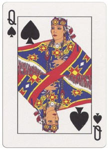 Queen of spades deck for indian casinos in the USA