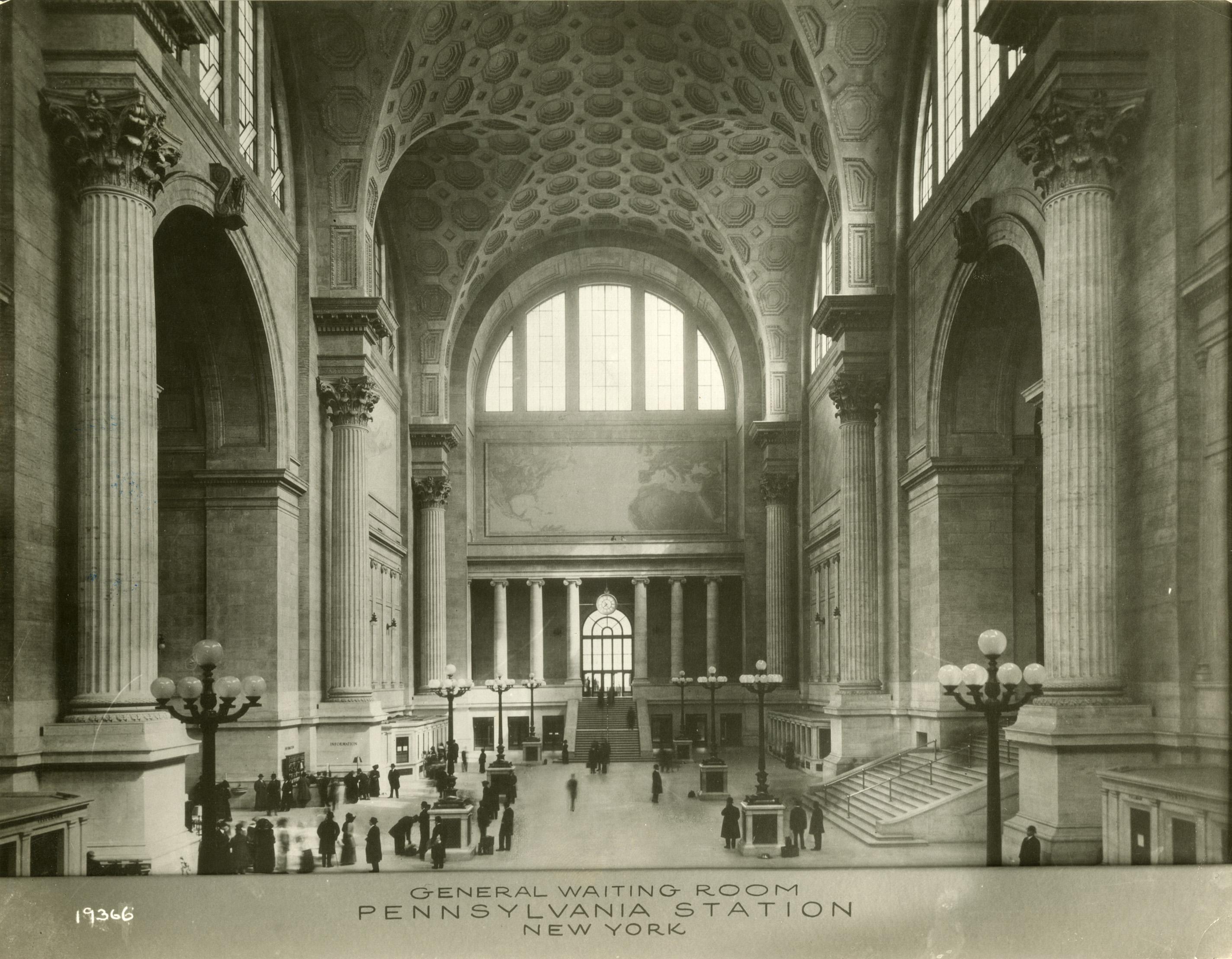 The Original Penn Station New York City