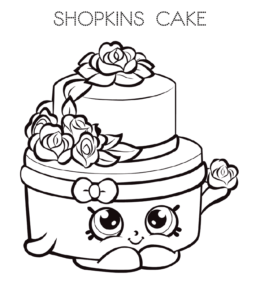 Coloring Pages: Cake Coloring Pages For Adults
