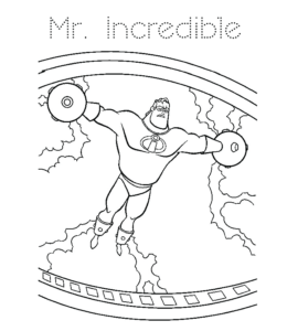 The Incredibles Robot Omnidroid Coloring Pages Sketch