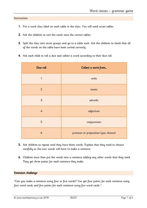 small resolution of Worksheet On Correlative Conjunctions For Grade 5   Printable Worksheets  and Activities for Teachers