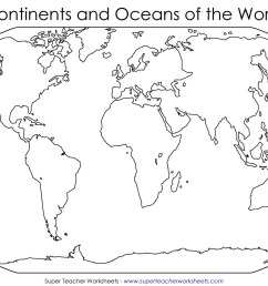 Continents And Oceans Worksheets 5th Grade   Printable Worksheets and  Activities for Teachers [ 1080 x 1920 Pixel ]