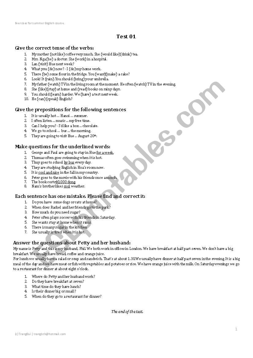 hight resolution of Prepositional Phrases Worksheet 6th Grade   Educational Template Design