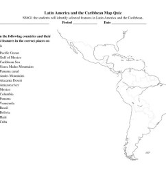South America Worksheets For 6th Grade   Printable Worksheets and  Activities for Teachers [ 791 x 1024 Pixel ]