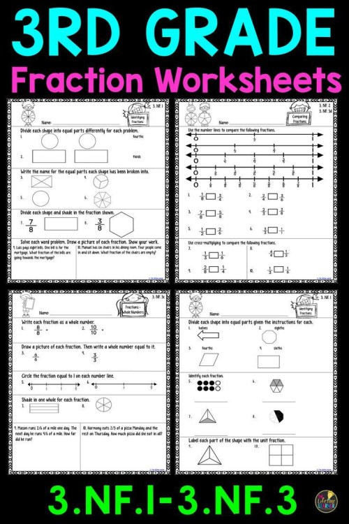 small resolution of Comparing Fractions Worksheet 3rd Grade 20 Paring Fractions Worksheet 3rd  Grade   Educational Template Design