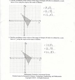 Worksheet On Dilations   Printable Worksheets and Activities for Teachers [ 2560 x 2355 Pixel ]