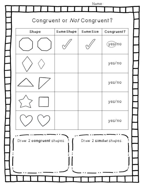 small resolution of Polygon Worksheets 4th Grade   Educational Template Design