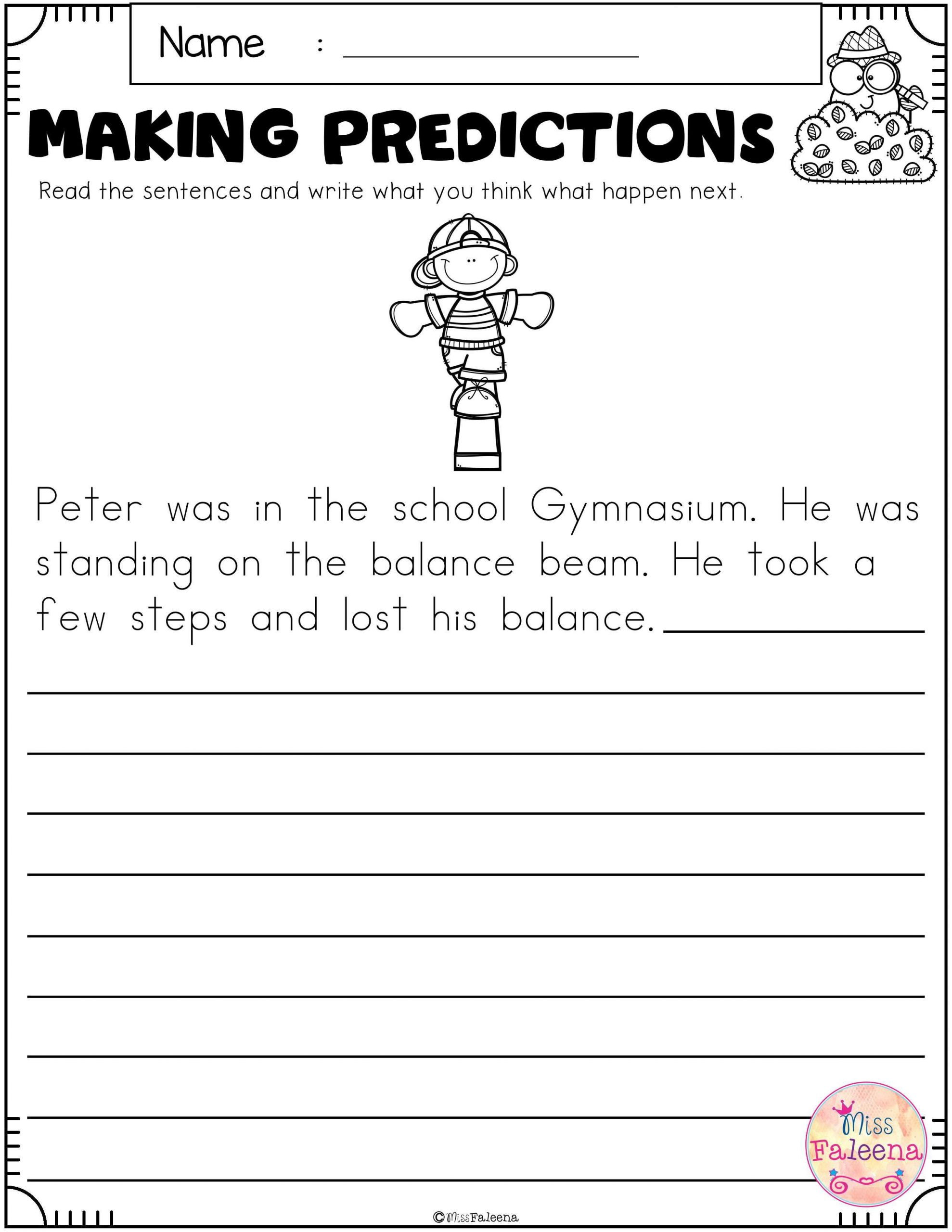 Text Evidence Worksheet 4th Grade