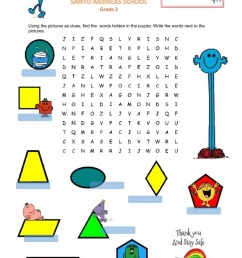 Shapes Worksheets for Grade 2 Geometric Shapes Interactive Worksheet    Educational Template Design [ 1643 x 1000 Pixel ]