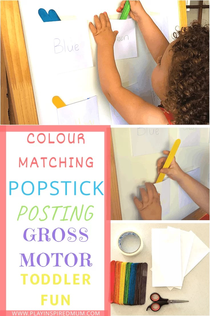 Colour Matching Posting Activity
