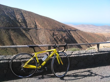One of the top notch BMC bikes at Playitas Resort: