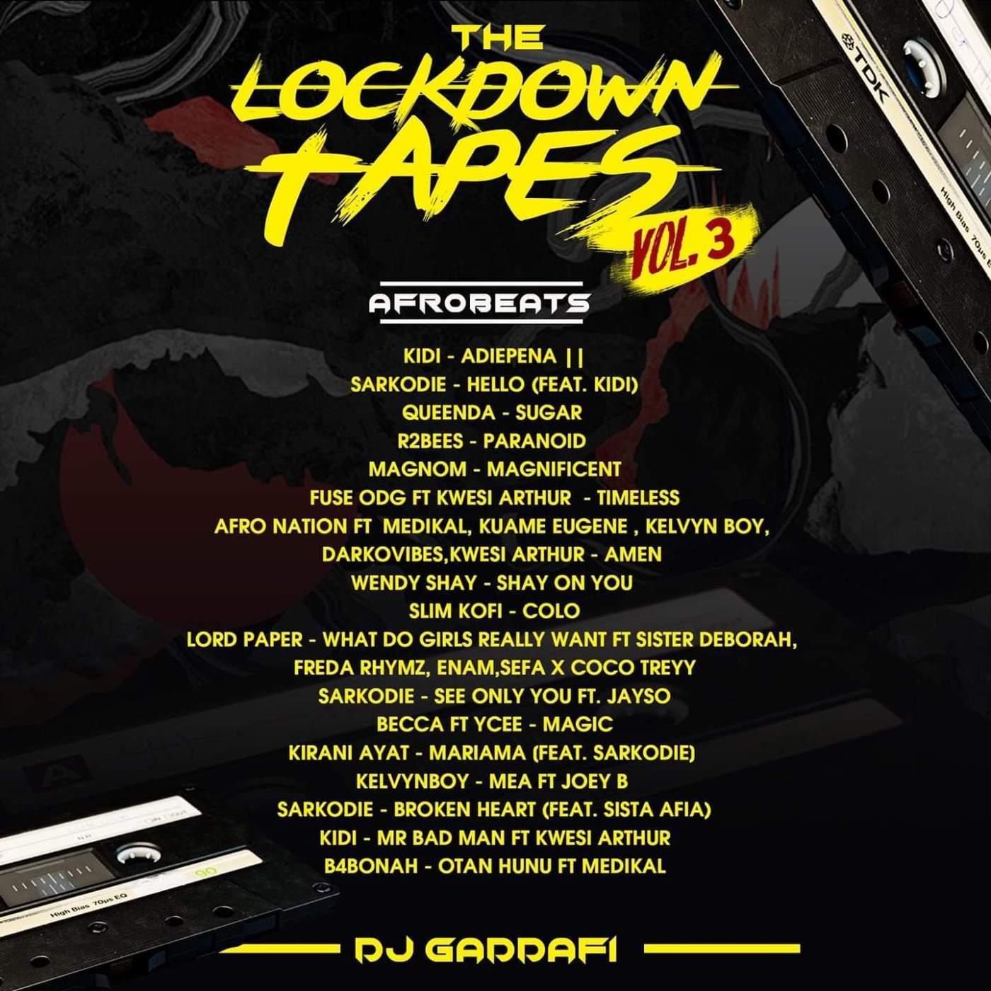 DJ Gaddafi - The Lockdown Tapes (Vol. 3)