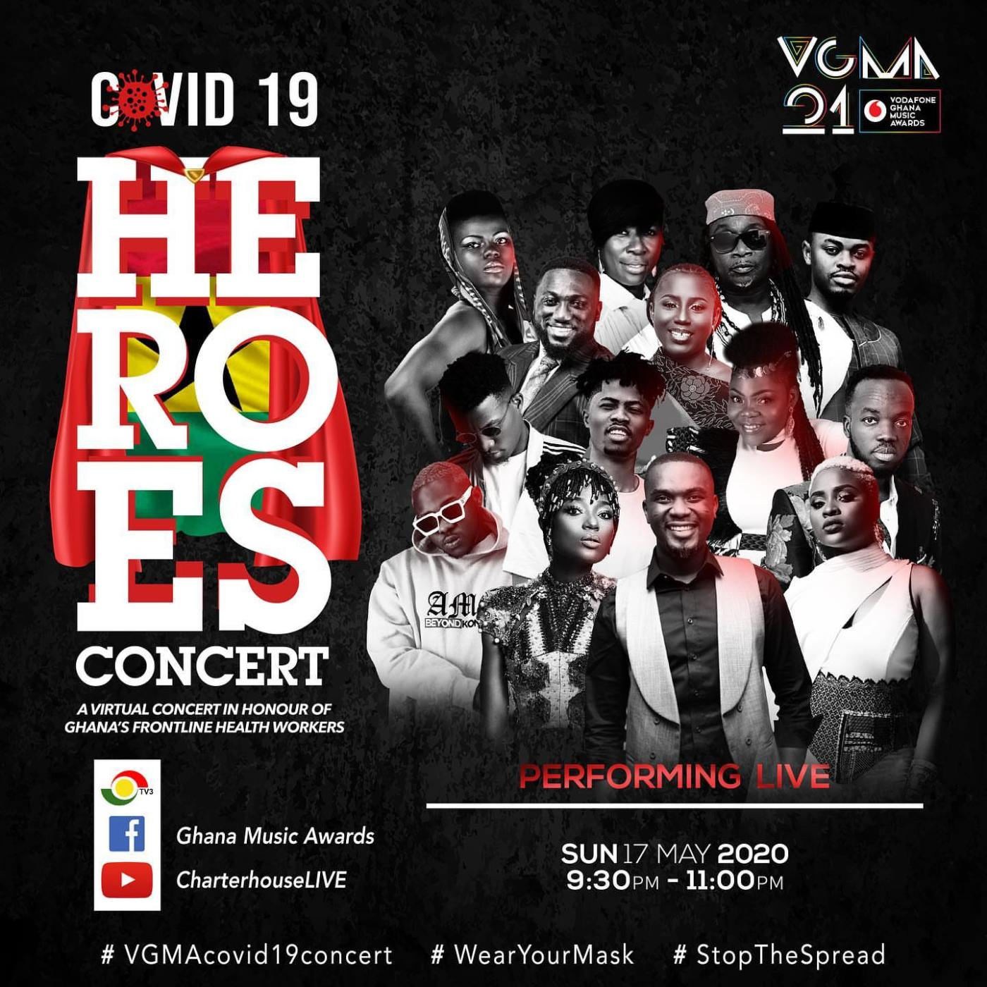 VGMA Covid-19 Concert - Heroes Concert