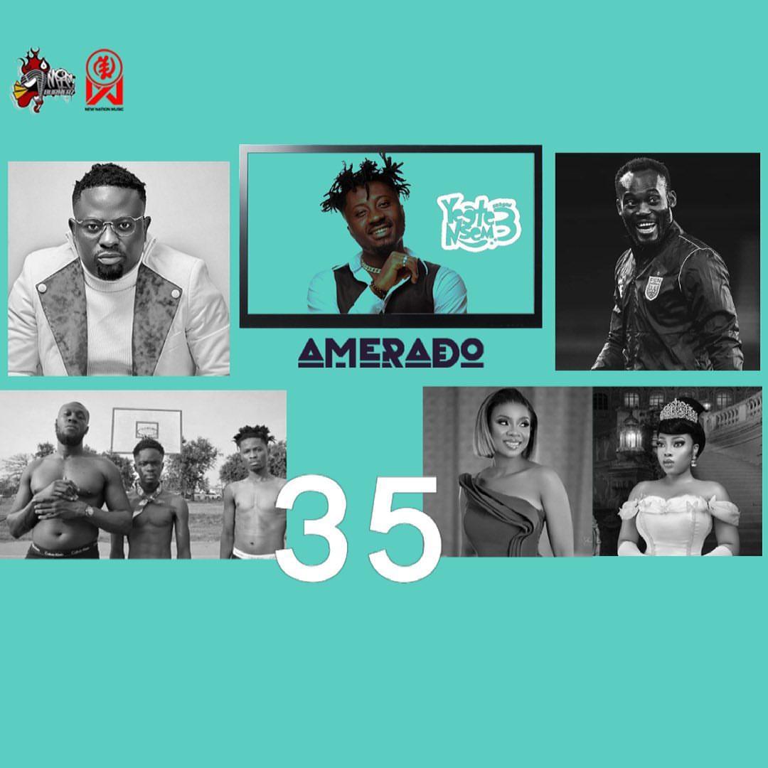 Amerado & Tee Rhyme - Yeete Nsem (Episode 35)