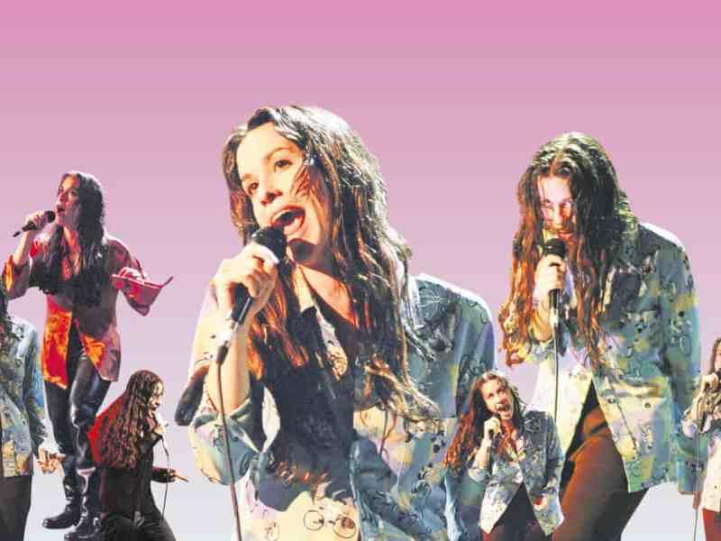 Alanis Morissette Jagged Little Pill album