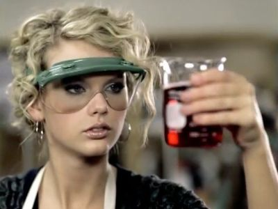 Taylor Swift Doing Science