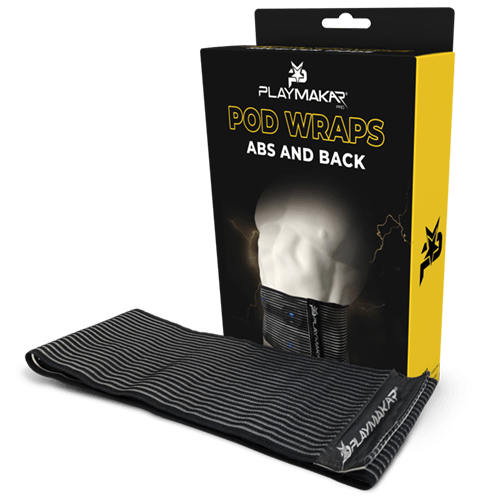 Pod wraps for PlayMakar TENS unit + EMS Muscle stimulator