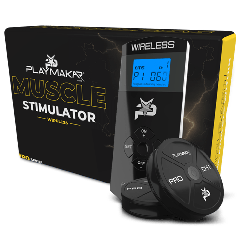PlayMakar TENS + EMS, PlayMakar Wireless, PlayMakar PRO, Recovery and relief