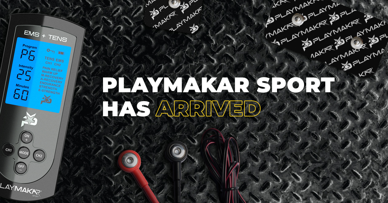 PlayMakar SPORT Muscle Stimulator for NFL and NBA athletes