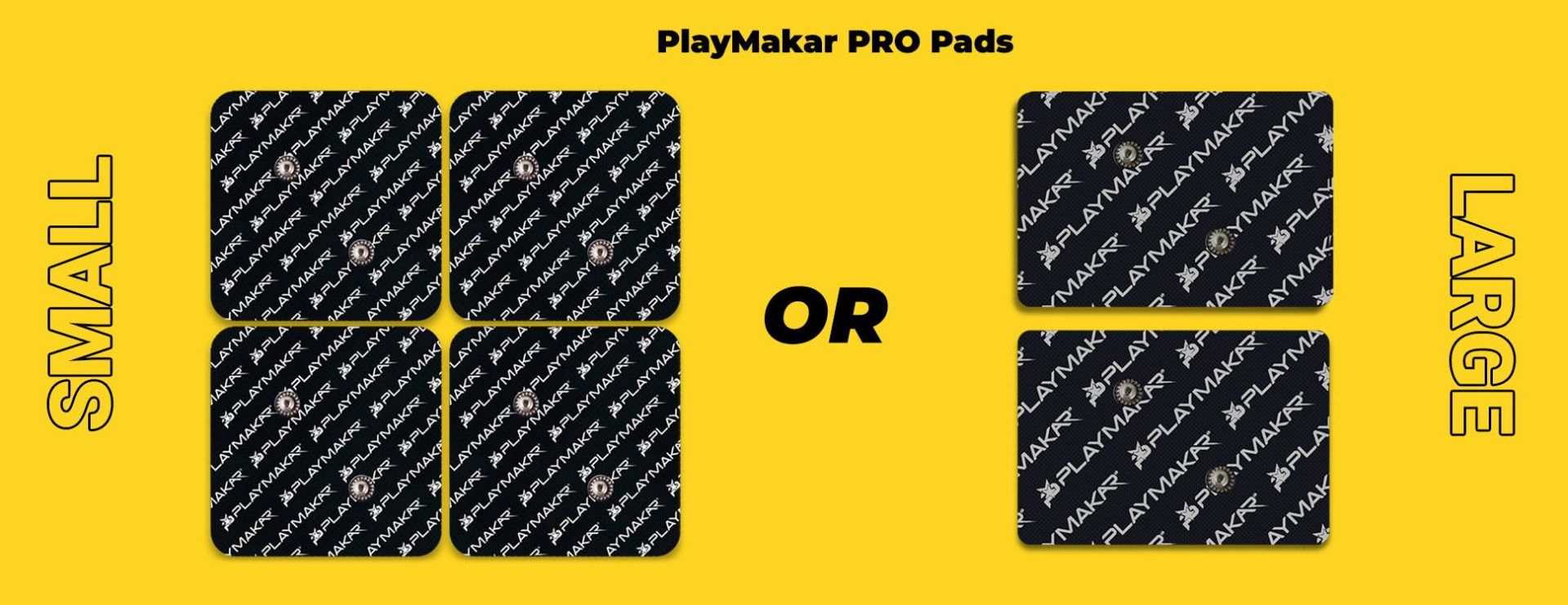 Small or large pads PRO (riot)