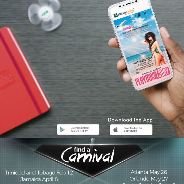 Find out where the next Lime, event or festival is. Discover how you can win tickets, costumes and sponsored items from Carnival bands and Caribbeanevents around the world. Have the world at your fingertips with Mobile Assist App and PlayMas.Today!