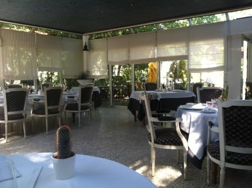 Lunch at Hostellerie Du Vieux Moulins.