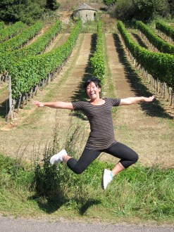 Comic relief. June, jump in front of these century old vines.