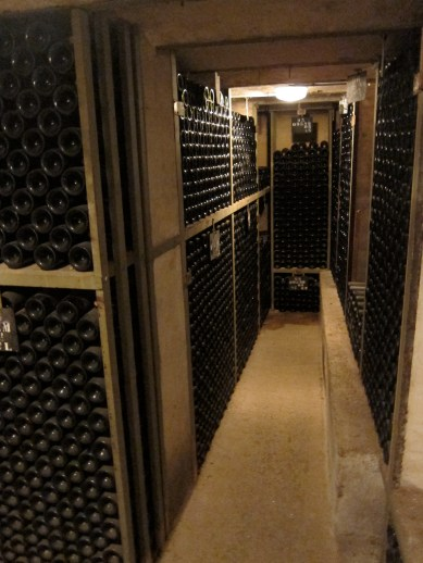 Cellars at Chateau Corton Andre