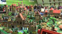 Diorama Playmobil mdieval - Chteau fort Playmobil