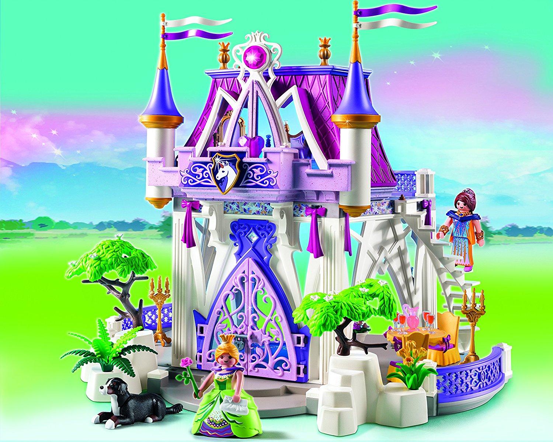 Pavillon de cristal 5474 Playmobil Princess  Chteau fort Playmobil