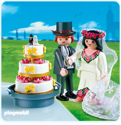 Brautpaar mit Hochzeitstorte  4298A  PLAYMOBIL Deutschland